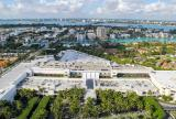Retractable awning roof at Bal Harbour Shops, Florida