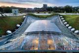 Rectractable roof at CAS Atrium