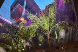 Retractable awning at Miami