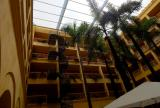 Retractable awning at Hotel Charleston, Columbia