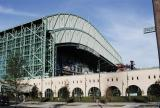 Retractable roof at Minute Maid Park