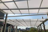 En-Fold Awning at Pier 17 - Extended