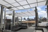 En-Fold Awning at Pier 17 Summer Pavilion-North Units