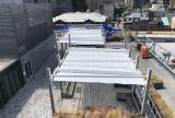 En-Fold Awning at rooftop restaurant