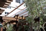 En-Fold Awning - Soho Beach House Courtyard Interior