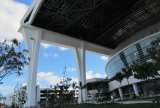 Rectractable Roof at Marlins Ballpark