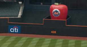 New York Mets Home Run Apple