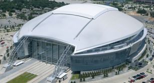 Retractable roof at Cowboys Stadium